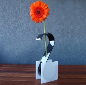 design vaso cisne
