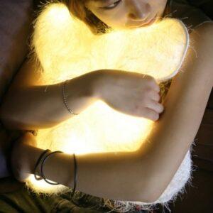almofada de led iluminadora