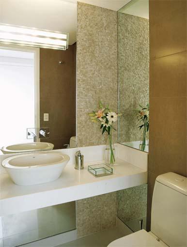Fotos de lavabos Inspiradores + Ideias, Modelos -> Banheiro Com Pastilha Atras Do Vaso Sanitario