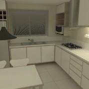 Uma cozinha para família