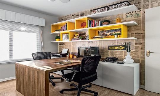 escritorio-para-2-pessoas-com-mesa-de-madeira