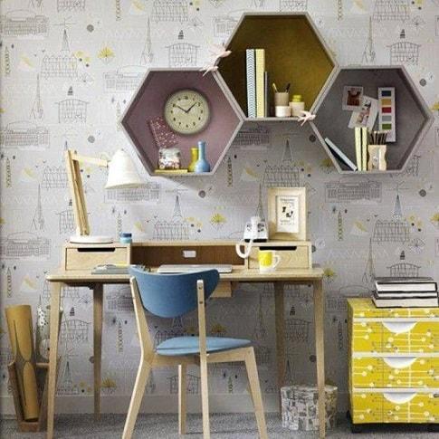 home-office-contemporaneo-e-colorido-retro