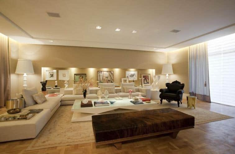 Sala De Estar Living ~  de ideias para decoração da sala de estar # decoracao de sala living
