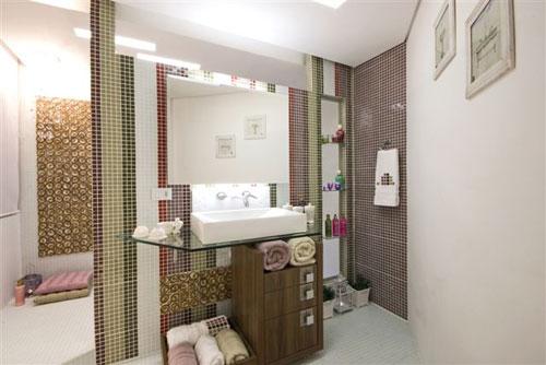 Banheiros com pastilha de vidro + FOTOS, IDEIAS, MODELOS -> Banheiros Com Pastilhas Porto Design