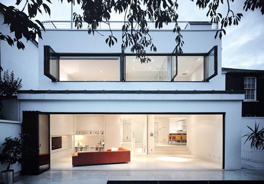 Casas contempor neas sem telhado aparente fotos modelos for Frente casa moderna