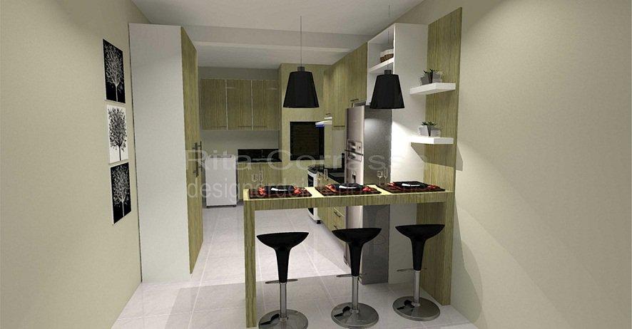 01 cozinha para a familia integrada