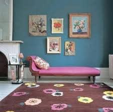 tapete colorido e estampado na decoracao