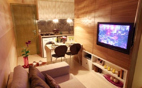 20 dicas para decorar apartamentos alugados e pequenos - Decorar apartamento playa pequeno ...