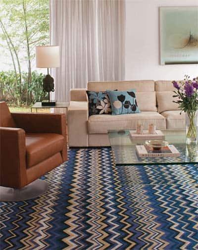 Como Usar Tapete Em Sala De Jantar ~ 20 FOTOS de tapetes na decoração para inspiração + Dicas