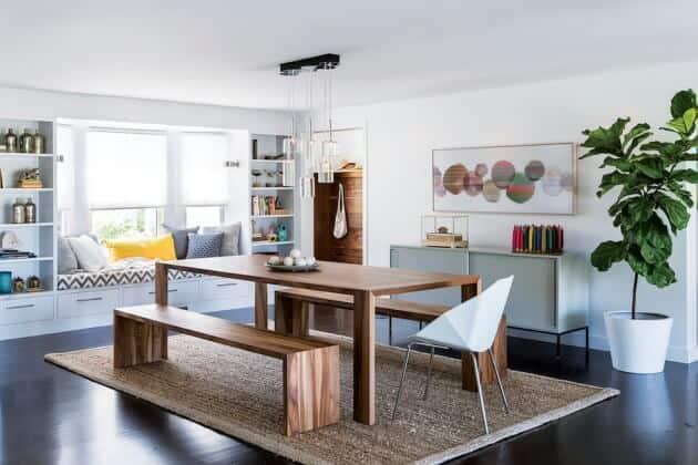Posso Colocar Tv Na Sala De Jantar ~ 20 FOTOS de tapetes na decoração para inspiração + Dicas