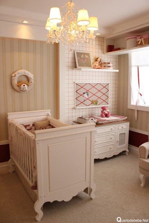 Fotos de lumin rias pendentes e lustres na sala e quartos - Dormitorio para bebes ...