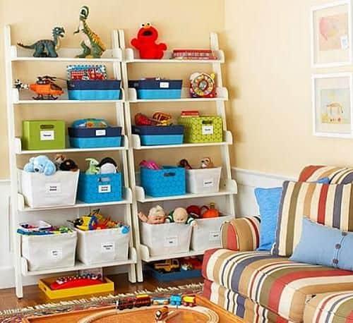 Como fazer a organização de brinquedos das crianças?