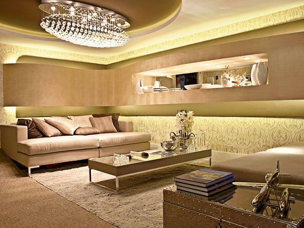 Lustre Para Sala De Estar Quadrado ~ Luminárias pendentes e lustres na sala, quartos e banheiros