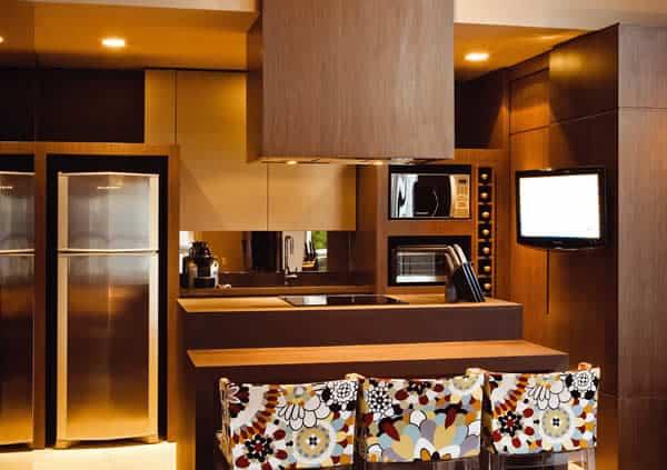 03 cozinha moderna e pequena