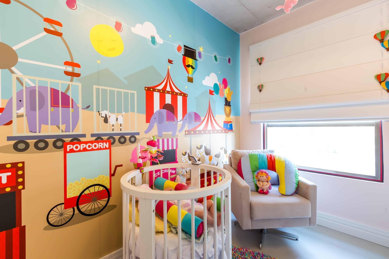 15 Fotos De Quartos Para Crian As Coloridos E Divertidos ~ Pintura Quarto De Bebe Menino E Quarto De Jovem Masculino