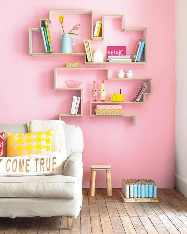 05 parede da sala rosa decoracao pantone