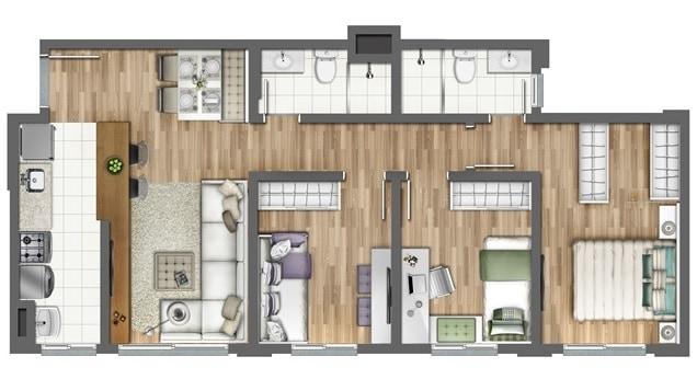 Como fazer plantas de casas humanizadas – curso, dicas e modelos