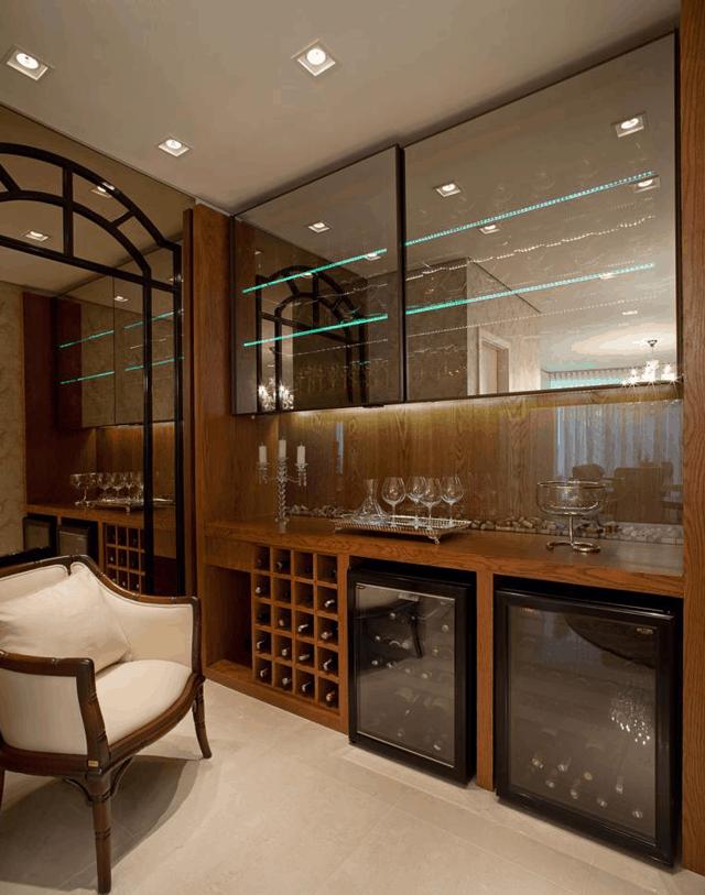 09 cristaleira com adega e bar vidros reflecta e led