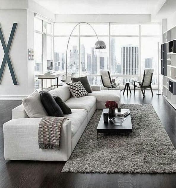 30 ambientes com piso preto – dicas e ideias com porcelanato preto ...