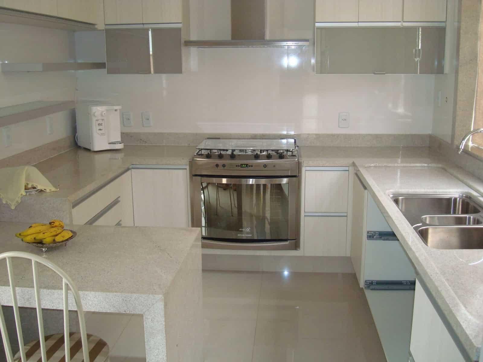 granitos brancos para cozinhas e banheiros Construção e Design #AE8B1D 1600 1200