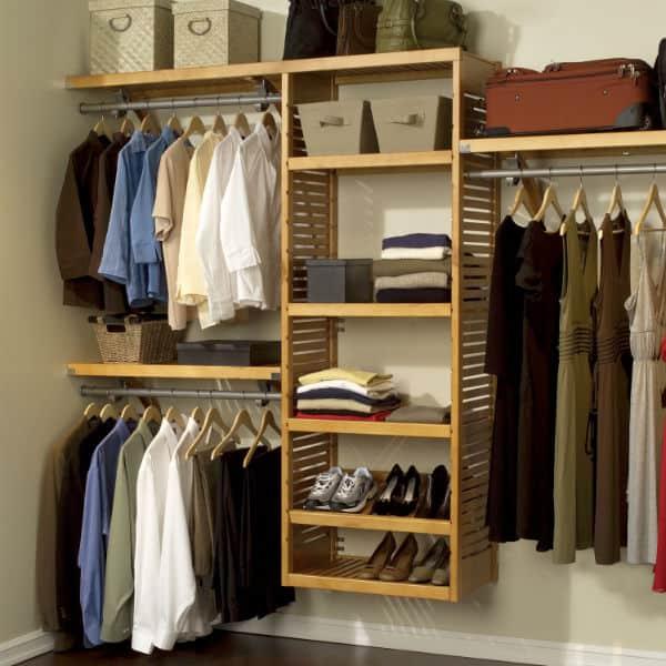 38 ideias para closet como projetar fotos e dicas for Ideas para closets modernos