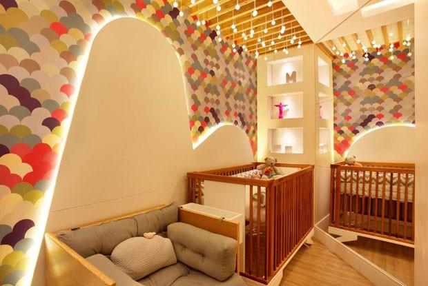 quarto de bebe decorado e diferente