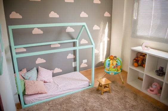quarto de bebe montessoriano decoracao