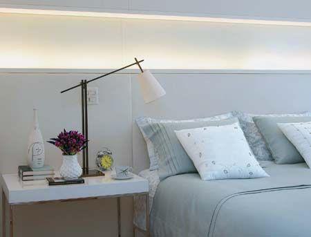 ideias para cabeceira com iluminacao