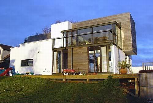 15 ideias de fachadas para sobrados pequenos e duplex fotos for Arquitectura moderna casas pequenas