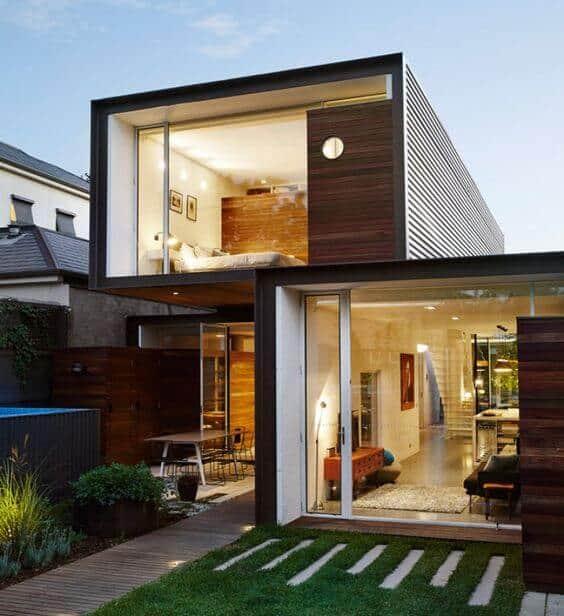 casas de modulos modernas