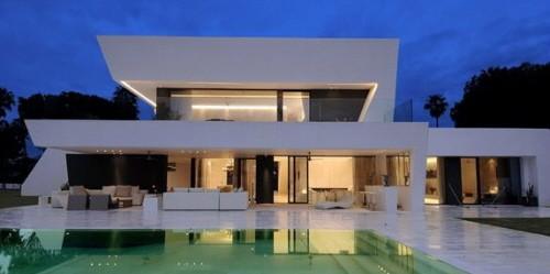 casa branca moderna