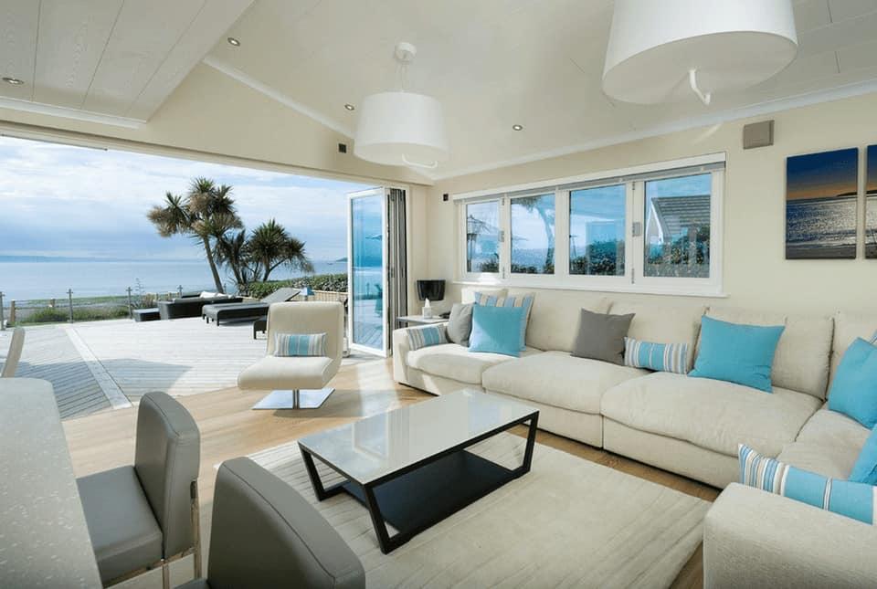decoracao moderna praiana branca