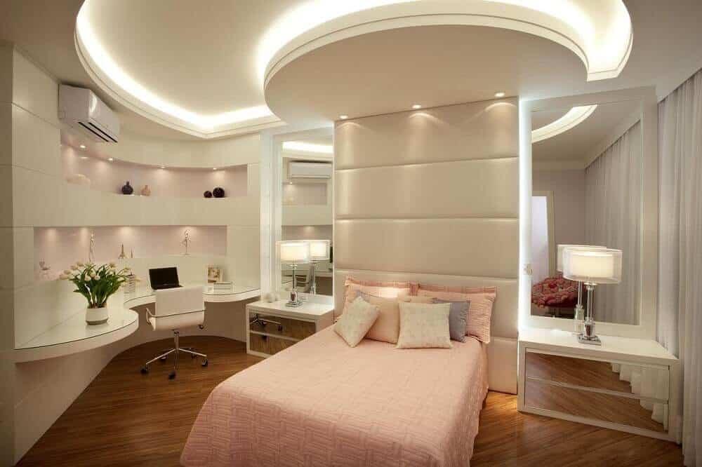 quarto elegante para mulher