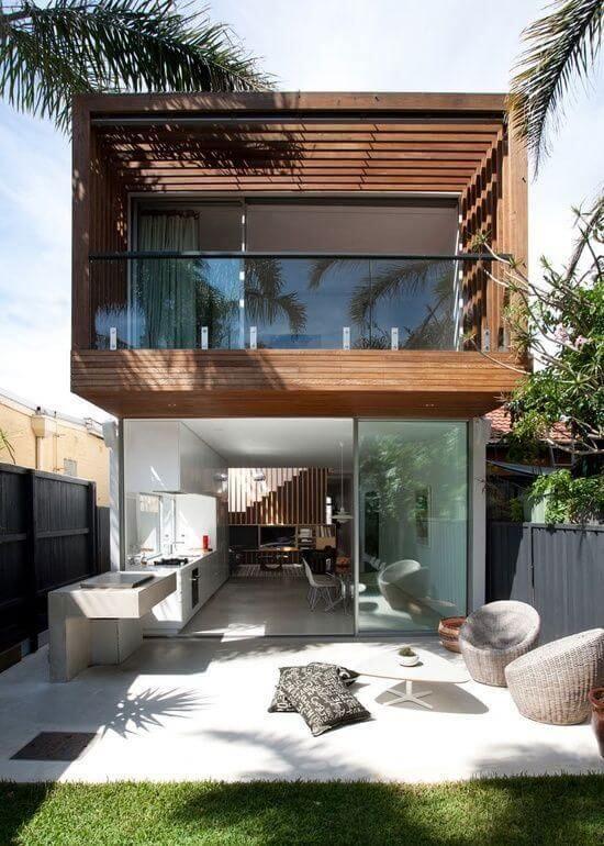 casa moderna sustentavel