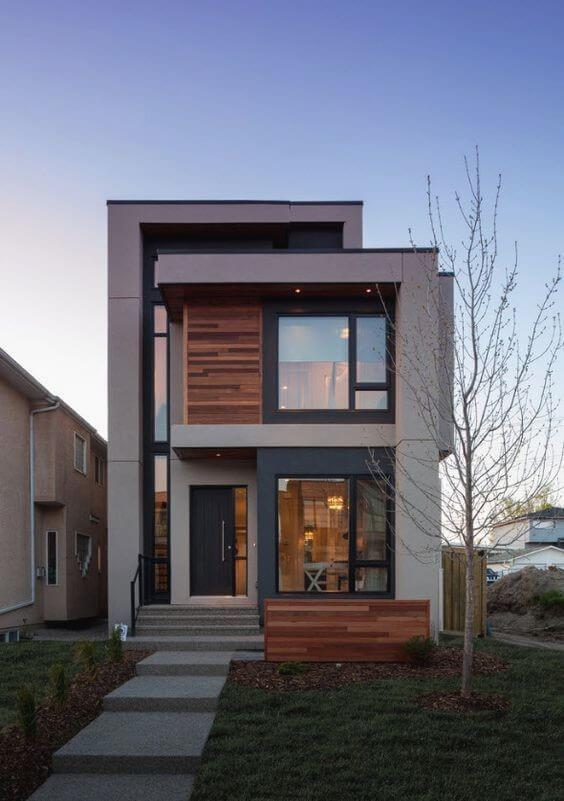 casa moderna sem telhado