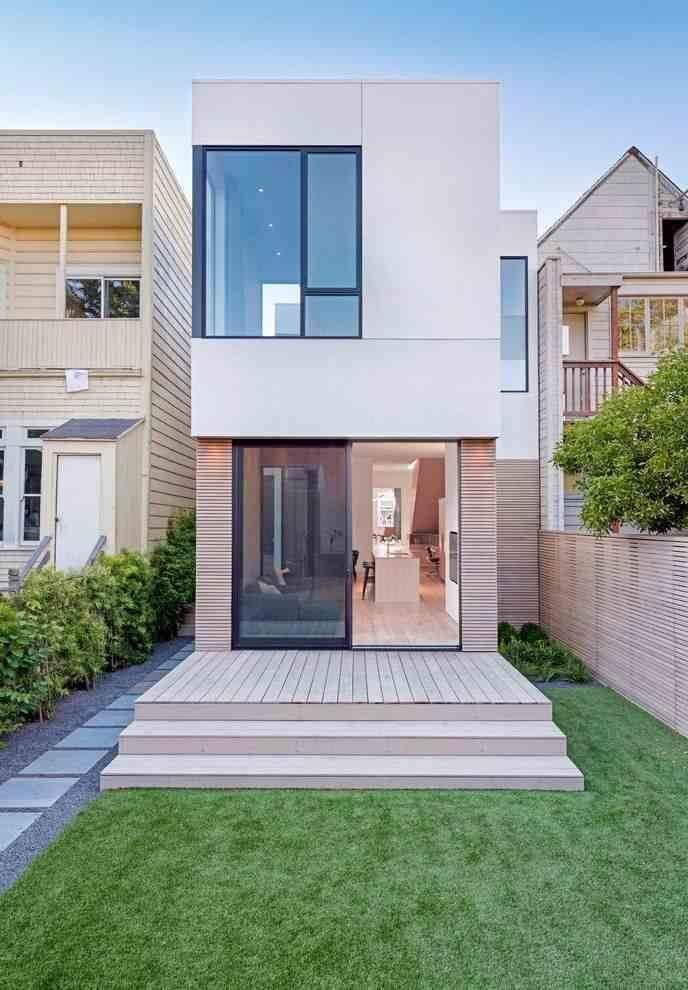 casa contemporanea pequena