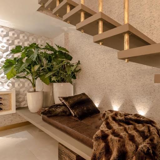 cantinho zen embaixo da escada