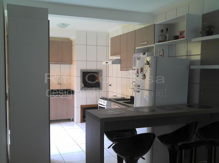foto da execução do projeto da cozinha