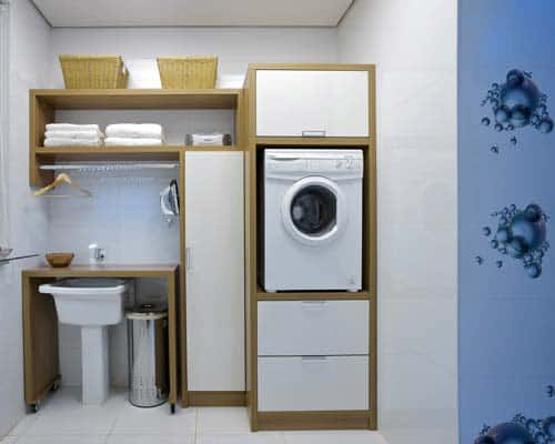area de servico pequena lavanderia planejada