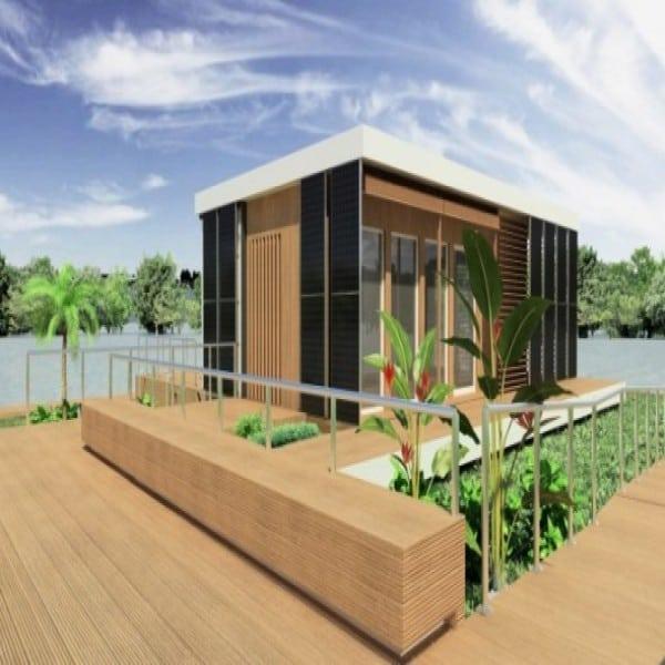 casa ecologica para aproveitar luz natural