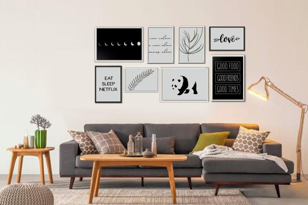 dicas para usar quadros na decoracao
