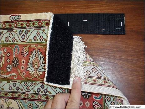 como colar tapete na parede
