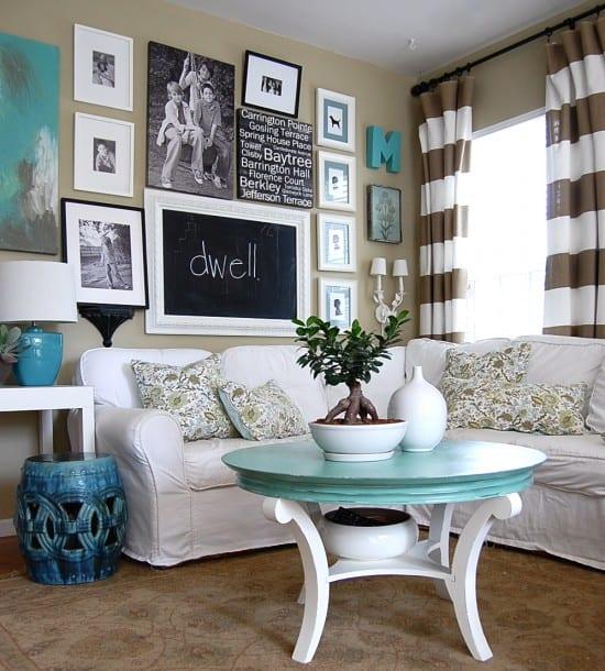 sofa de canto com capa branca