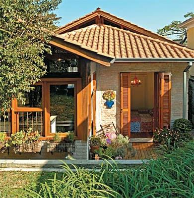 01 casa pequena de tijolo a vista