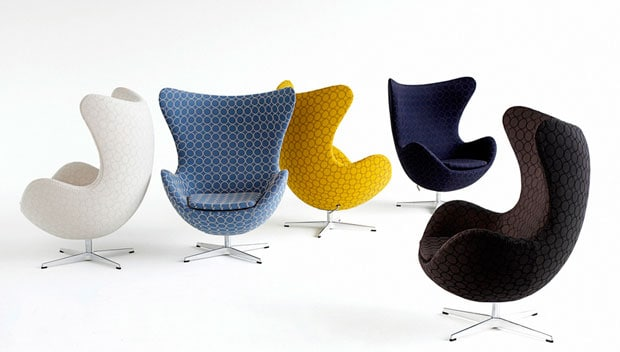 design poltrona egg jacobsen