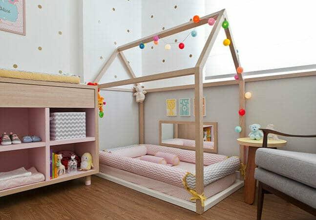 quarto de bebe montessoriano