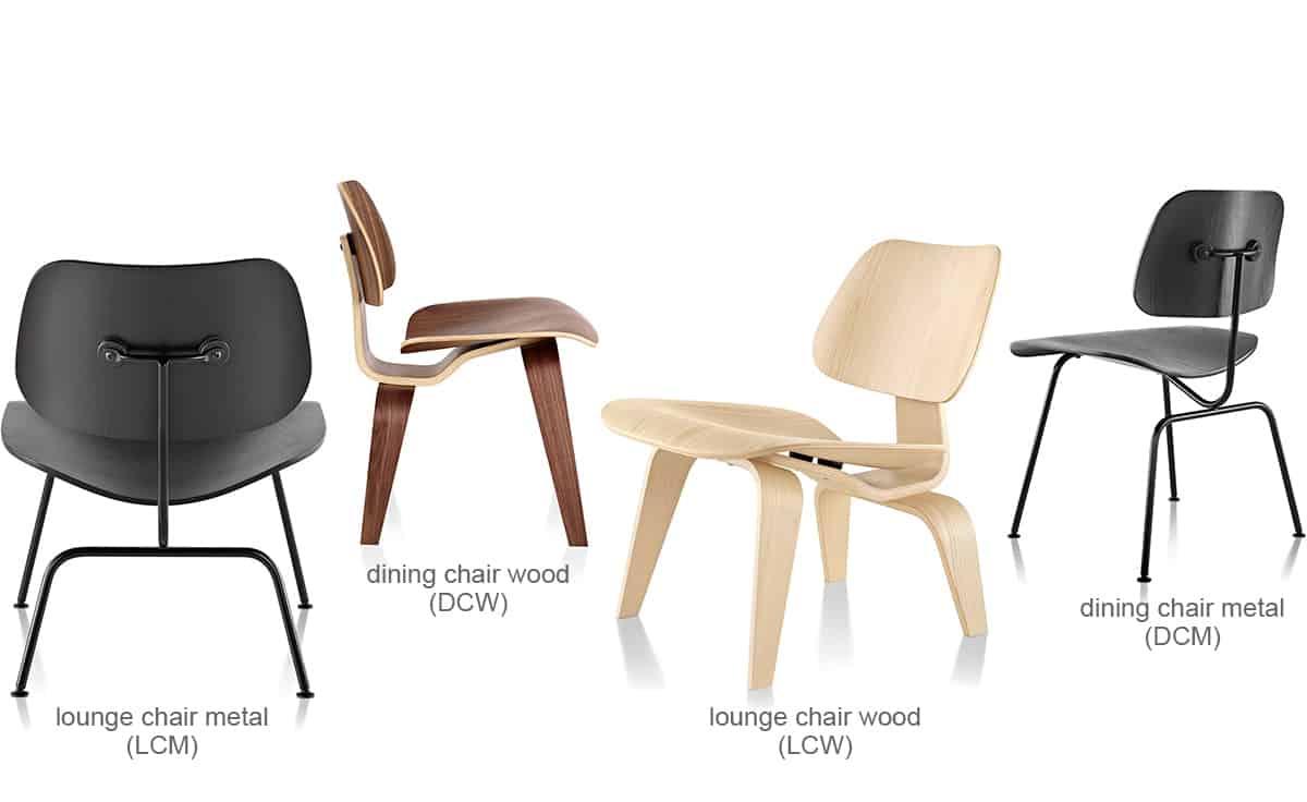 cadeiras de madeira charles eames