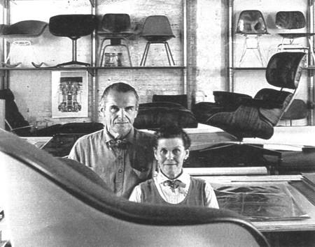 Casal de designers Charles e Ray Eames