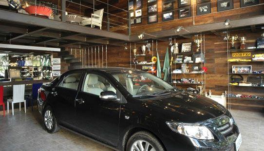 Ideias para organizar a garagem com estantes