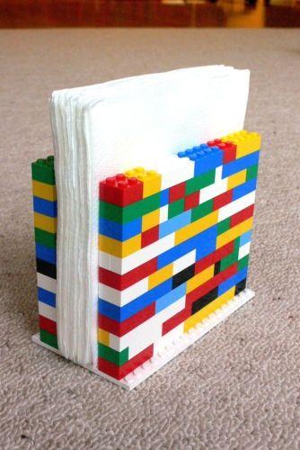 ideias para organizar com lego